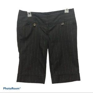 Guess Pinstripe Bermuda style Shorts